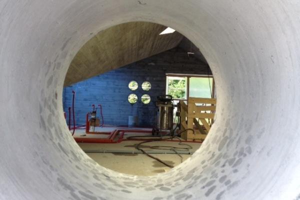 Baufortschritt Frühjahr 2012