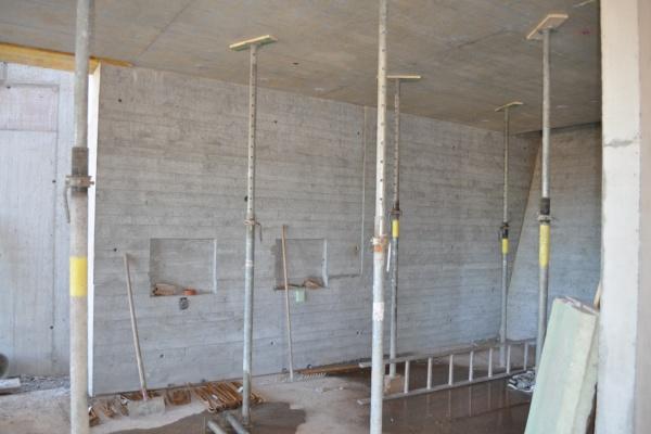 Baufortschritt September 2011