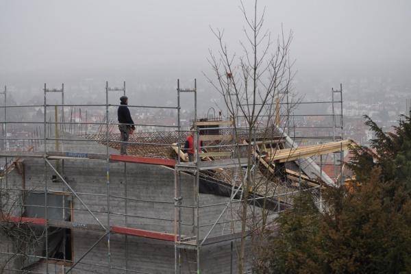 Erste Etappe Dach