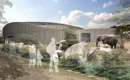 Elefantenhaus auf Schaumglas